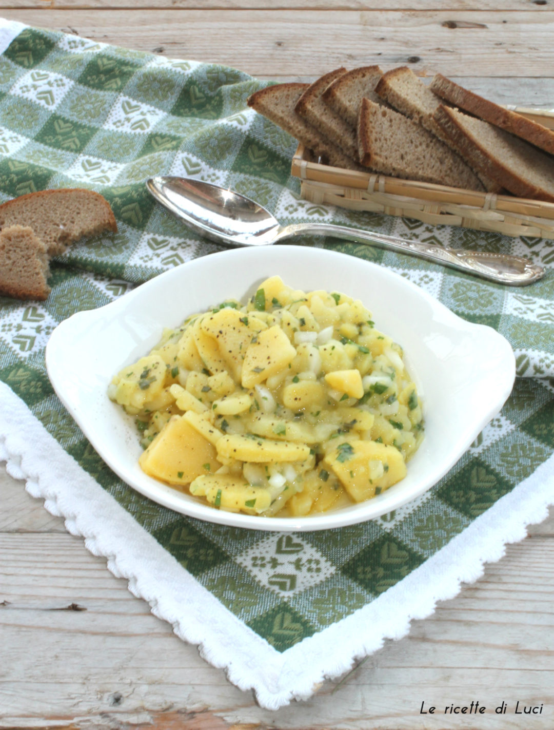 insalata di patate tirolese