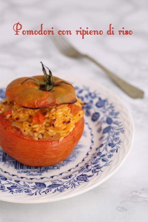 Pomodori con ripieno di riso