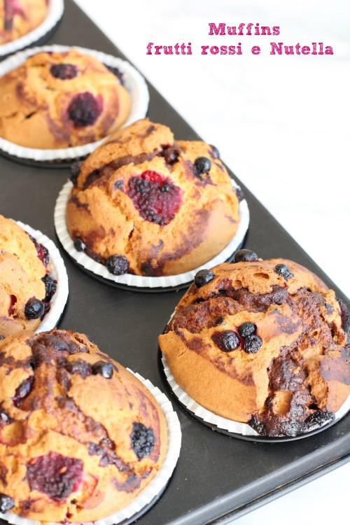 Muffins in teglia