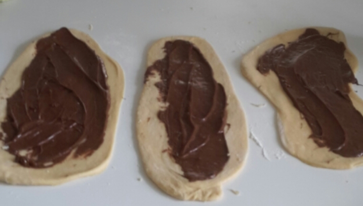 Treccia di Nutella