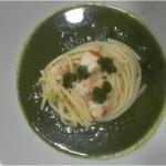Spaghetti ai sapori di mare e fattoria