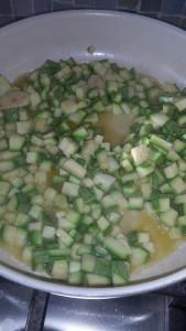 soffriggere le zucchine
