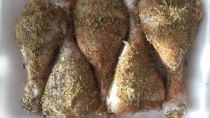 panatura coscette di pollo