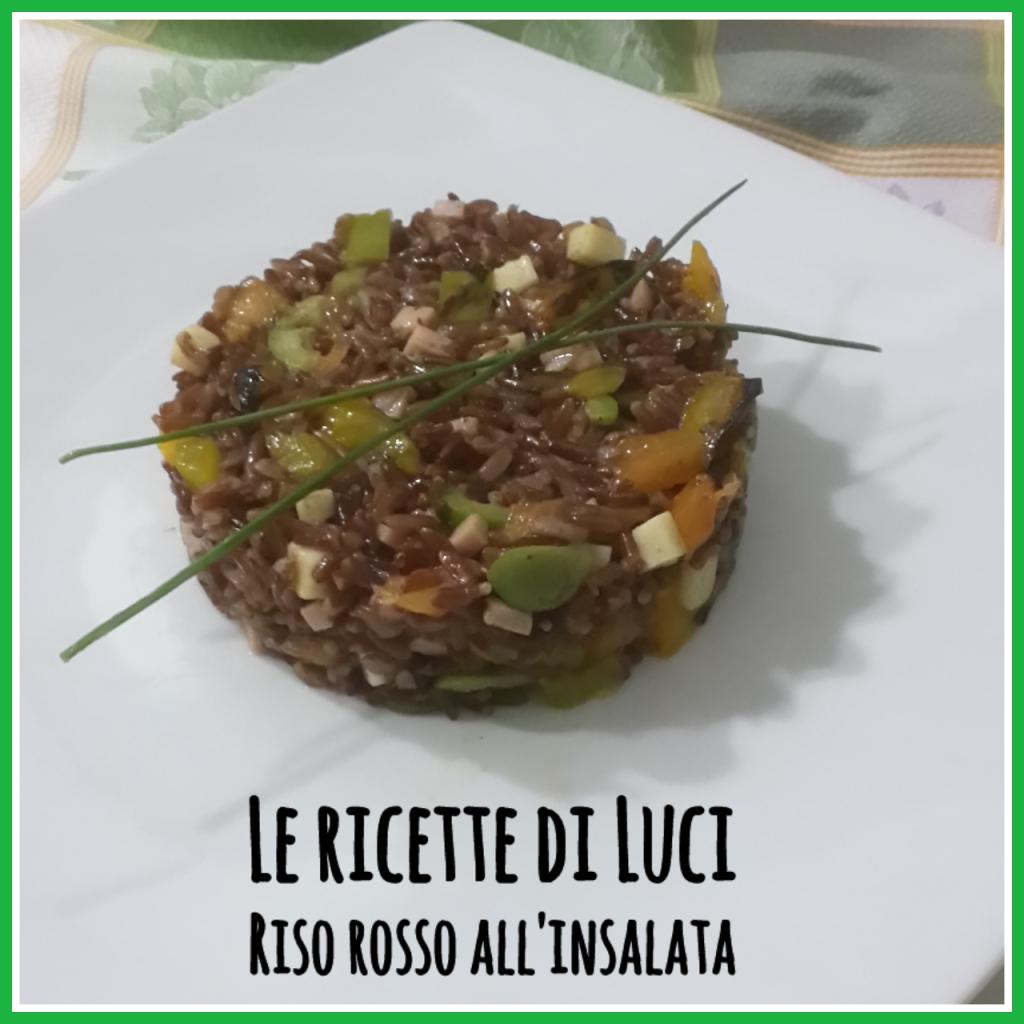 riso rosso all'insalata