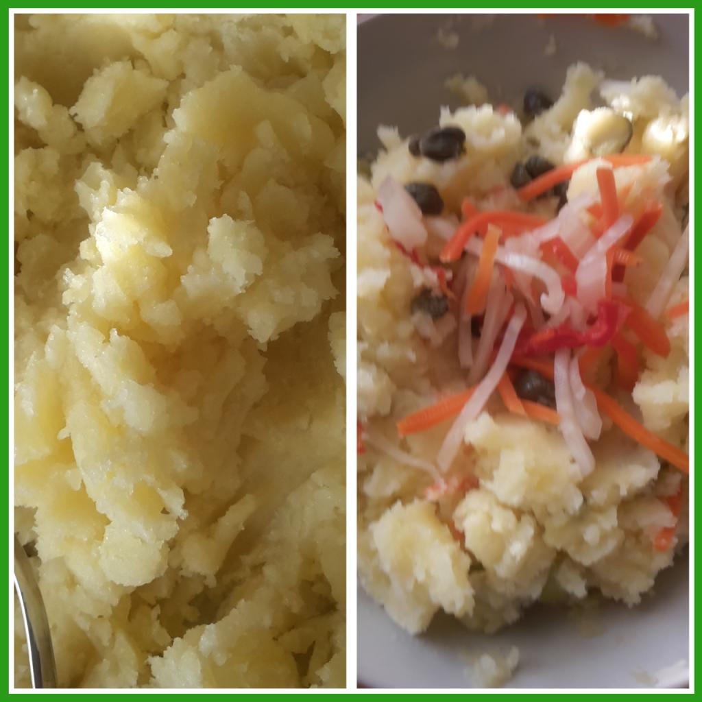 purea di patate fredda