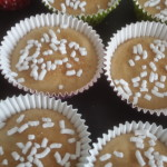 Muffin con yogurt, zucchero di  e cannella