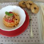 Chitarra pomodorini e tarallo