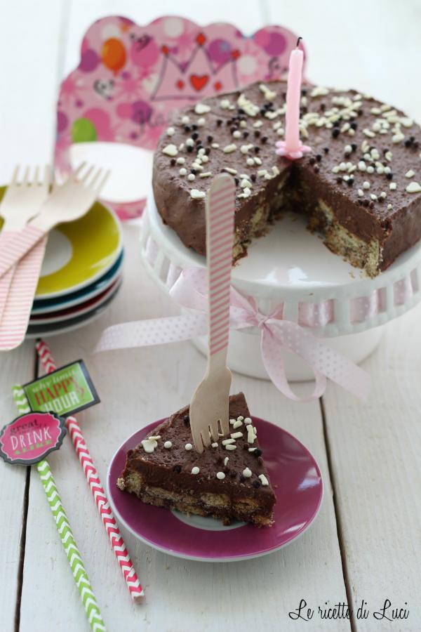 "Compleanno con la ""Chocolate Biscuit Cake"""