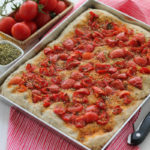 THE RECIPE-TIONIST: Focaccia ai cereali con pomodorini