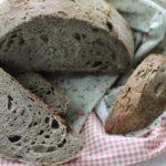 Pane con semola di grano duro e farina di grano arso
