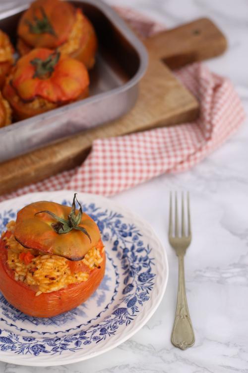 Pomodori con ripieno di riso Petronilla