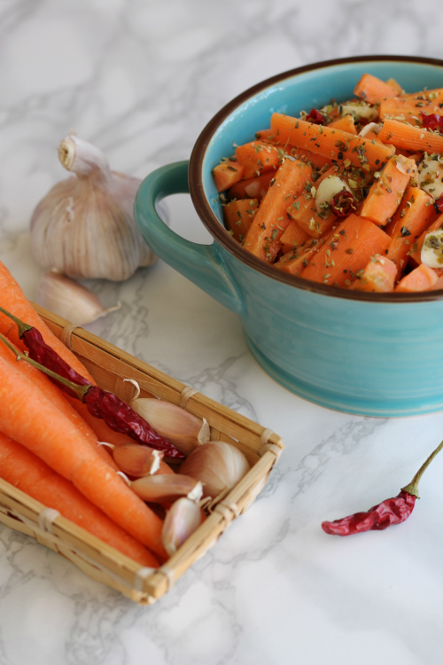 carote all'insalata vert