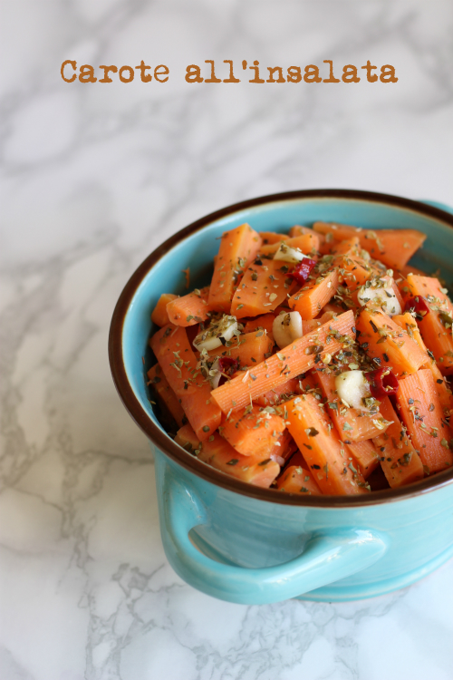 carote insalata