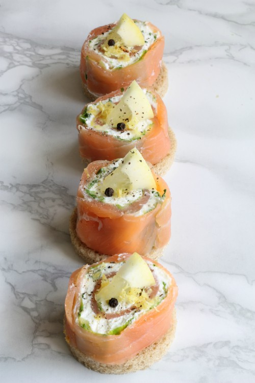 rolls salmone