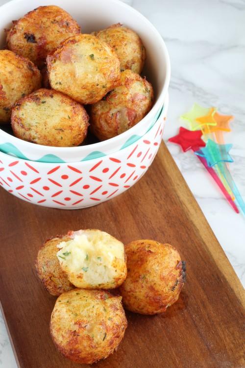 palline di patate fritte