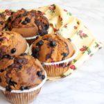 Muffins frutti rossi e Nutella