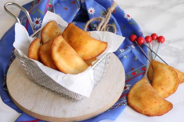 Ravioli di patate fritti 2