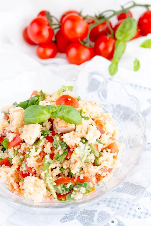 couscous gamberi rucola e pomodorini 1