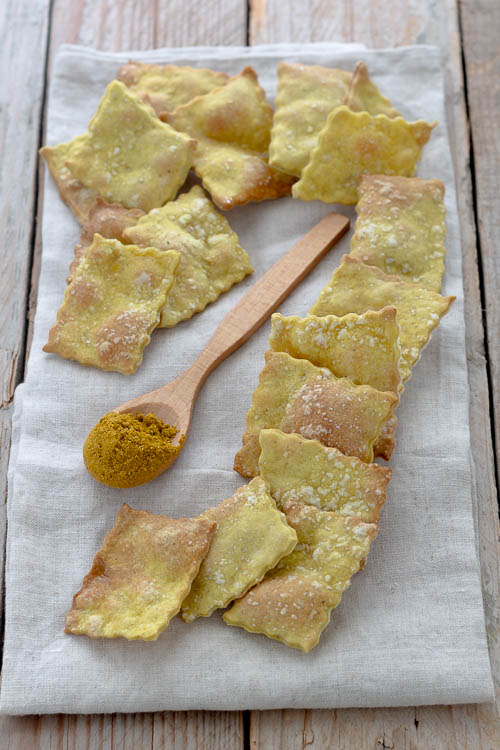Crackers al curry