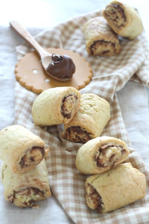 Biscotti Nutella e mandorle